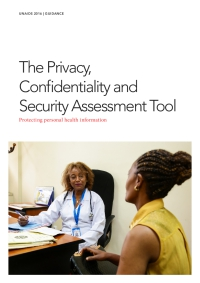 The Privacy, Confidentiality and Security Assessment Tool — Protecting personal health information
