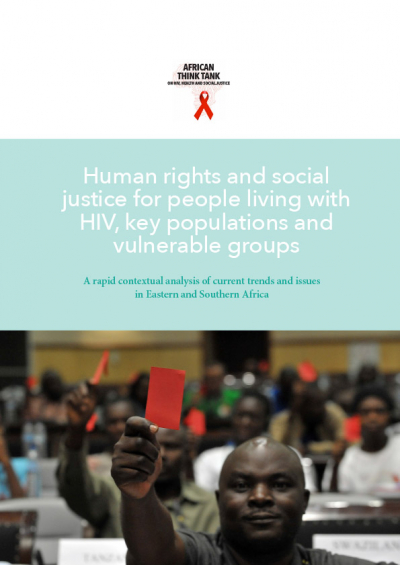 Human rights and social justice for people living with HIV, key populations and vulnerable groups